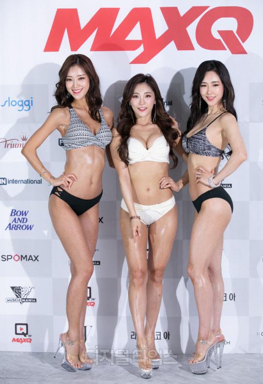 [포토] 이예나-정유승-윤다연, 수영복 통해 볼륨 드러낸 머슬퀸